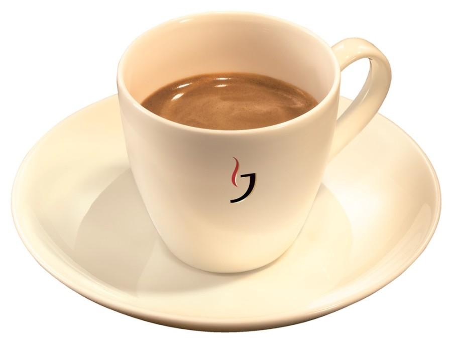 Jacobs Espressotasse 80ml 6 Tassen inkl. Untertassen