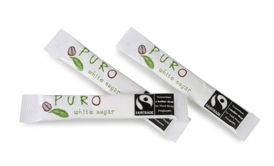 Puro Zuckersticks  500 x 5g Portionspackung, Fairtrade