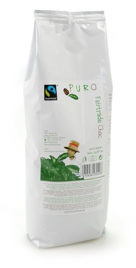 Puro Choc Trinkschokolade 11% 10 x 1kg, Fairtrade