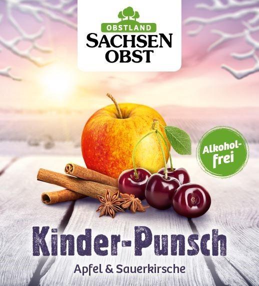 Sachsenobst Kinder-Punsch Apfel & Sauerkirsche 10 Liter Bag-in-Box, alkoholfrei