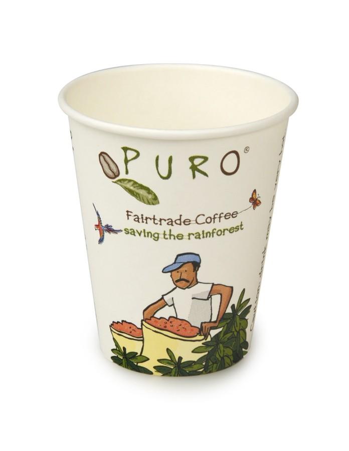 Puro coffee to go Becher 200/250ml 75 Stück