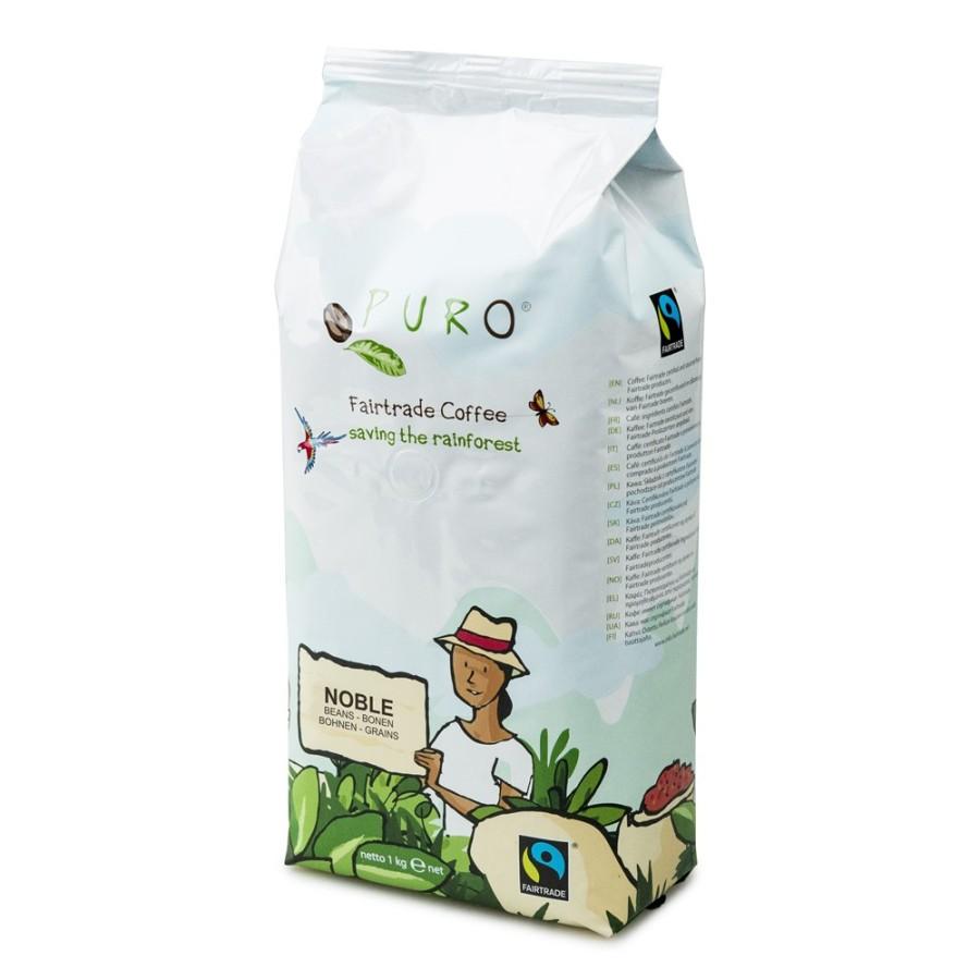 Puro Noble Creme Café  9 x 1kg Ganze Bohne Fairtrade