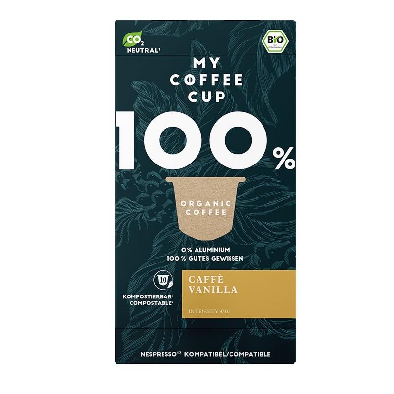 My-Cups Box Caffè Vanilla 10 Kapseln, Bio, 0% Alu
