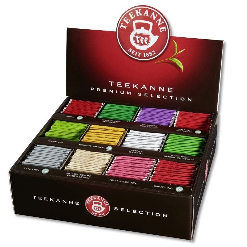 Teekanne Gastro Premium Selection Box 12 Sorten x 15 Teebeutel