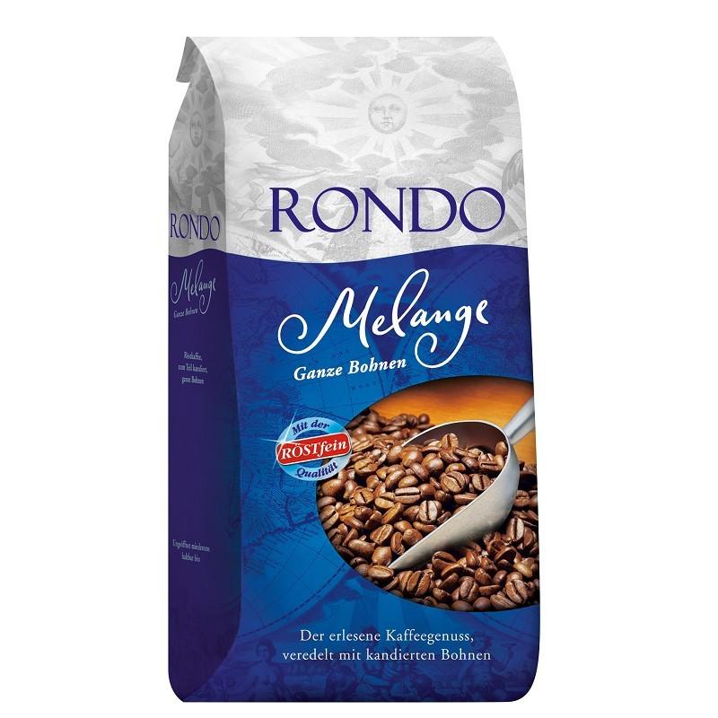 Röstfein Rondo Melange Röstkaffee 8 x 1kg  Ganze Bohne