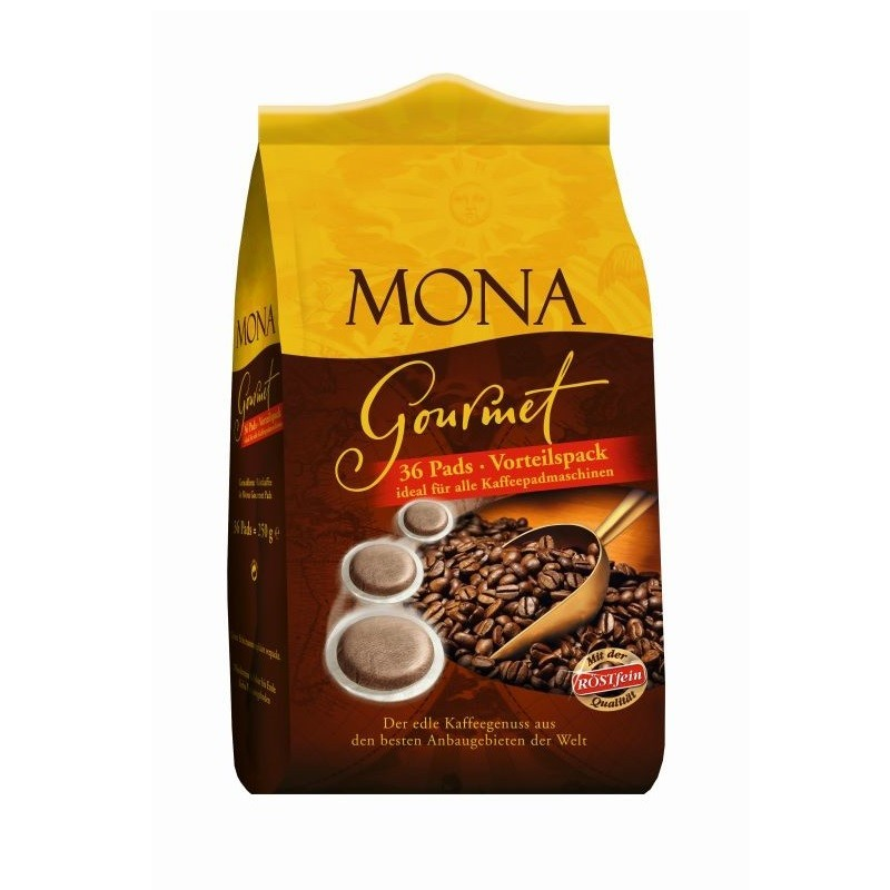 Röstfein Mona Gourmet Filterkaffee 36 Pads