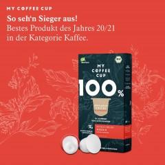 My-Cups Kaffee-Liebhaber-Box 9 Sorten 9 x 10 Kapseln, Bio, 0% Alu