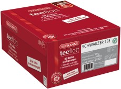 Teekanne teeflott  Schwarzer Tee 30 Filterketten à 5 Kammern