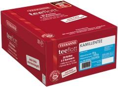 Teekanne teeflott Kamillentee 30 Filterketten à 5 Kammern