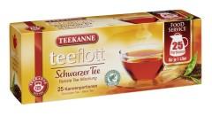 Teekanne teeflott Schwarzer Tee  25 x 3,5g Kannenportionen