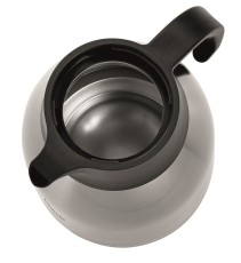 Bartscher Isolierkanne 2 Liter silber-schwarz