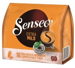 Senseo Extra mild Röstkaffee 16 Pads  UTZ zertifiziert