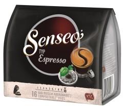 Senseo Typ Espresso Röstkaffee 16 Pads  UTZ zertifiziert