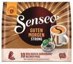 Senseo Guten Morgen Strong XL Röstkaffee 10 Pads  UTZ zertifiziert