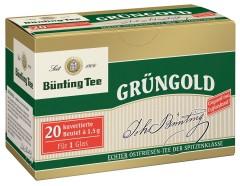 Bünting Tee Grüngold Ostfriesen-Tee 20 x 1,5g kuvertierte Teebeutel
