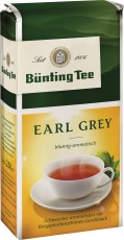 Bünting Tee Earl Grey Schwarzer Tee 250g lose
