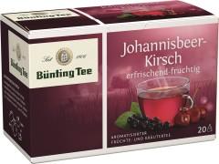 Bünting Tee Johannisbeer-Kirsch Früchtetee 20 x 2,5g Teebeutel