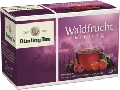 Bünting Tee Waldfrucht Früchtetee 20 x 2,5g Teebeutel