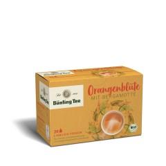 Bünting Tee Orangenblüte Bergamotte 20 x 2,5g Teebeutel, Bio