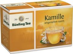 Bünting Tee Kamille Kräutertee 20 x 1,5g Teebeutel