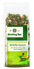 Bünting Tee Wildkräuter lose 125g lose