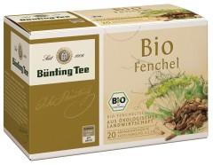 Bünting Tee Fenchel Kräutertee 20 x 2,5g Teebeutel, Bio