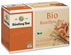 Bünting Tee Rooibos 20 x 1,75g Teebeutel, Bio