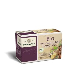 Bünting Tee Ayurvedische Mischung 20 x 2g Teebeutel, Bio