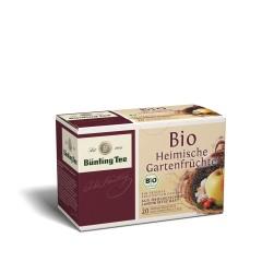 Bünting Tee Heimische Gartenfrüchte 20 x 2,25g Teebeutel, Bio
