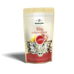 Bünting Tee Erdbeer-Orange lose 80g, Bio