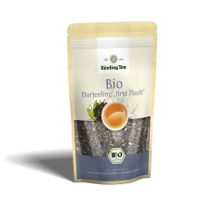 Bünting Tee Darjeeling first flush schwarzer Tee lose 100g, Bio