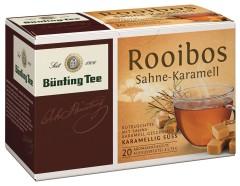 Bünting Tee Rooibos Sahne-Karamell 20 x 1,75g