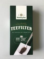 Bünting Tee Teefilter small 100 Stück Tassenfilter