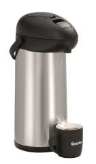 Bartscher Isolierpumpkanne 5 Liter silber-schwarz