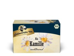 Goldmännchen Tee Kamille Kräutertee 20 x 1,5g Teebeutel, Bio