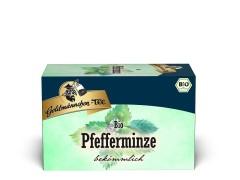 Goldmännchen Tee Pfefferminze 20 x 1,5g Teebeutel, Bio