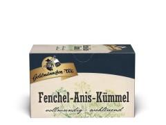 Goldmännchen Tee Fenchel Anis Kümmel 20 x 1,5g Teebeutel