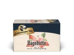 Goldmännchen Tee Hagebutte mit Hibiskus 20 x 1,5g Teebeutel