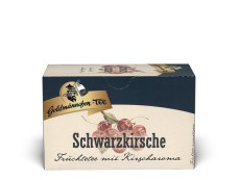 Goldmännchen Tee Schwarzkirsche 20 x 2,4g Teebeutel