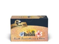 Goldmännchen Tee Rooibos Vanille Karamellaroma Blüten 20 x 1,8g Teebeutel