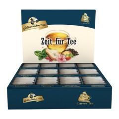 Goldmännchen Tee Selektions-Box  12 Sorten x 12 Teebeutel