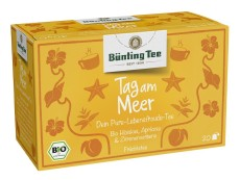 Bünting Tee Tag am Meer Früchtetee 20 x 2,5g Teebeutel, Bio