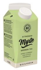 Hessler & Herrmann Grüner Tee Zitrone Myrte 0,33 Liter, Bio