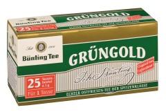 Bünting Tee Grüngold Ostfriesen-Tee  25 x 1g Teebeutel
