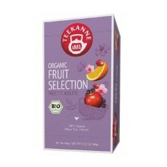 Teekanne Organic Fruit Selection Früchtetee 20 x 3g Teebeutel, Bio