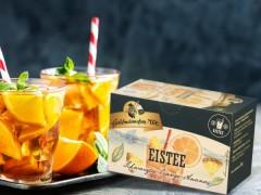 Goldmännchen Tee Eistee Schwarztee-Orange-Ananas 20 x 1,8g Teebeutel