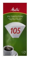 Melitta Filtertüten PA 105 G weiß 200 Stück