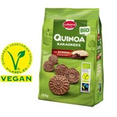 Wikana Quinoa Kakaokeks  12 x 125g, Bio Fairtrade