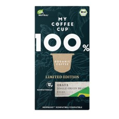 My-Cups Box Single Origin Obata Brasil 10 Kapseln, Bio, 0% Alu