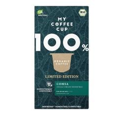 My-Cups Box Single Origin Comsa Honduras 10 Kapseln, Bio, 0% Alu